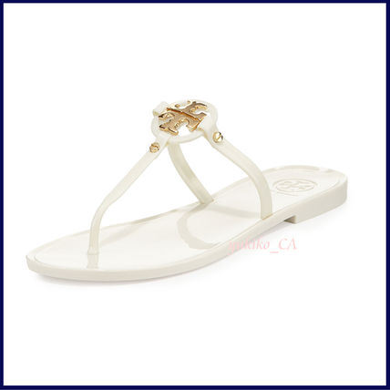 Tory Burch サンダル 【国内発送】Mini Miller Jelly Thong Sandal セール(4)
