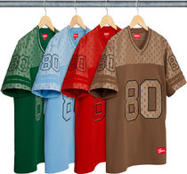 Week13新作!SUPREME18SS★Monogram Football Jersey