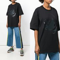 Y PROJECT(ワイプロジェクト) Tシャツ・カットソー ∞∞Y PROJECT∞∞ oversized printed Tシャツ☆ブラック