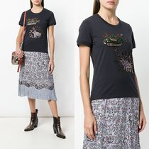 ∞∞Coach∞∞ sequinned Tシャツ☆グレー