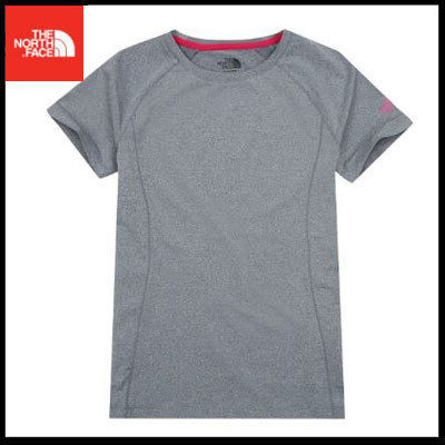 THE NORTH FACE Tシャツ・カットソー (ザノースフェイス) W'S CITY RUN S/S R/TEE CHARCOAL NT7UJ31K