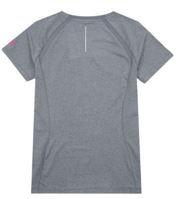 THE NORTH FACE Tシャツ・カットソー (ザノースフェイス) W'S CITY RUN S/S R/TEE CHARCOAL NT7UJ31K(2)