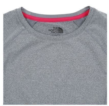 THE NORTH FACE Tシャツ・カットソー (ザノースフェイス) W'S CITY RUN S/S R/TEE CHARCOAL NT7UJ31K(3)