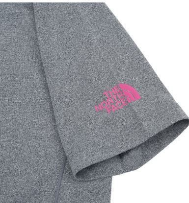 THE NORTH FACE Tシャツ・カットソー (ザノースフェイス) W'S CITY RUN S/S R/TEE CHARCOAL NT7UJ31K(4)
