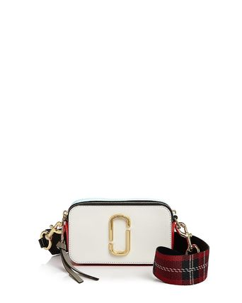 3582e365dc5cf MARC JACOBS ショルダーバッグ・ポシェット Marc Jacobs☆Snapshot Leather Camera Bag  PORCELAIN MULTI ...