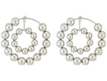 Steve Madden★Multi Beaded Double Hoop Post▽送料関税込