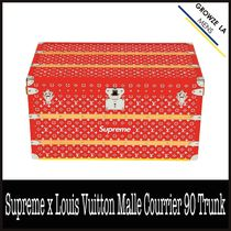 ★【LV】Supreme x Louis Vuitton Malle Courrier 90 Trunk 3/3
