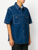 【AMI ALEXANDRE MATTIUSSI】Over-Sized Denim Shirt