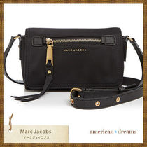 SALE! marc jacobs ナイロンショルダーバッグ black