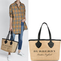 18SS BB054 MEDIUM GIANT TOTE IN GRAPHIC PRINT JUTE