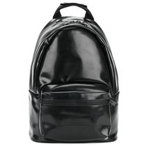 【AMI ALEXANDRE MATTIUSSI】Zip Backpack Black