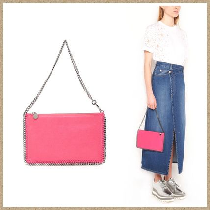 Stella McCartney クラッチバッグ SALE【Stella McCartney】FALABELLA クラッチバッグ Fuxia