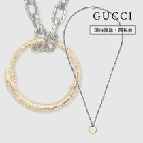 【GUCCI】国内発送 ゴールド スネーク リング ネックレス