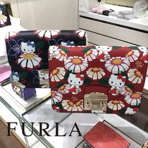 【FURLA×Hello KITTY】限定コラボ METROPOLIS CROSSBODY
