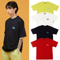 A PIECE OF CAKE(ピースオブケイク) Tシャツ・カットソー ★A PIECE OF CAKE★ロゴTシャツ Oval Logo 1/2 T-shirts【4色】