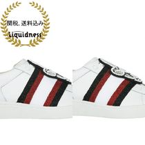 MOA MASTER OF ARTS(モアマスターオブアート) スニーカー Moa MasterofArts-leather sneakers mickey patch