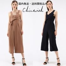 国内発送・送関税込☆Chicwish☆Gracefulness Bowknot Jumpsuit