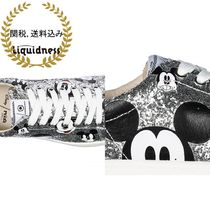 MOA MASTER OF ARTS(モアマスターオブアート) スニーカー Moa MasterofArts-leathersneakers disney