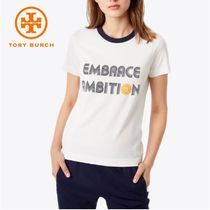 【TORY BURCH】EMBRACE AMBITION T-SHIRT * ロゴTシャツ