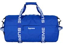supreme 18ss Duffle bag blue small week1