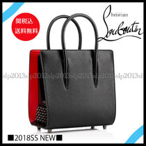 18New■Christian Louboutin■Paloma Small All Black☆関税込
