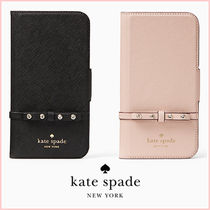 【kate spade】即発送!iPhone X☆elliott street folio♪手帳型