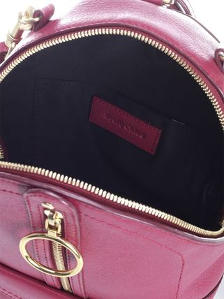 See by Chloe バックパック・リュック 【シーバイクロエ】Berry Pink Mino Mini Backpack Pink(3)