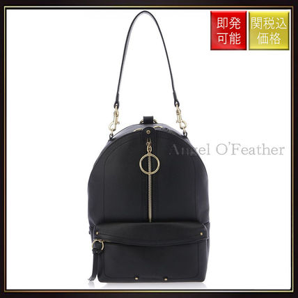See by Chloe バックパック・リュック 【シーバイクロエ】Small Backpack In Black Leather Black