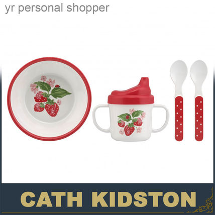 Cath Kidston おしゃぶり・授乳・離乳食グッズ 関税・送込☆キャスキッドソン Cath Kidston ☆ 離乳食セット ♪