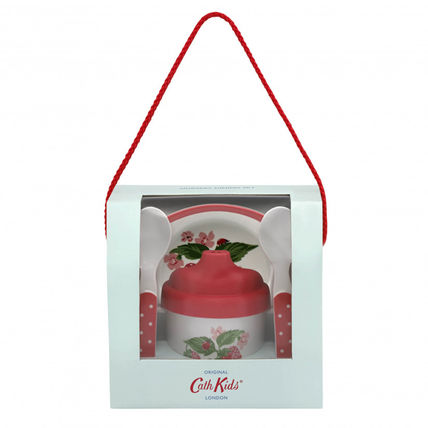 Cath Kidston おしゃぶり・授乳・離乳食グッズ 関税・送込☆キャスキッドソン Cath Kidston ☆ 離乳食セット ♪(2)