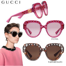 【正規品保証】GUCCI★18春夏★SQUARE-FRAME SUNGLASSES