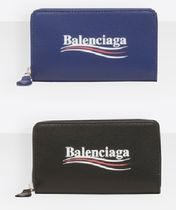 入手困難【BALENCIAGA】Everyday Logo&Wave Mini R-Zip 小財布