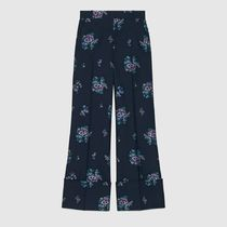 18SS Flowers fil coupe cotton wool pant