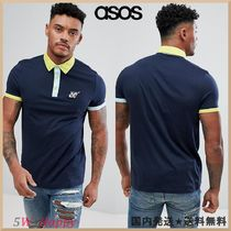 ★ASOS DESIGN polo with rocket chest embroidery
