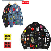 【BUYMA最安値】SS18 SUPREME Patches Denim Trucker Jacket
