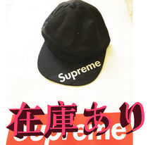 在庫ありSupreme 18SS Visor Label 6-Panelブラック