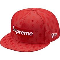 18S/S Supreme Monogram Box Logo New Era Red ニューエラ