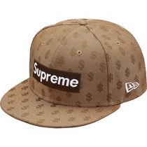18S/S Supreme Monogram Box Logo New Era Brown ニューエラ