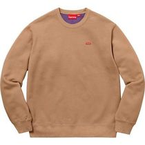 在庫あり Week13 18S/S Supreme Contrast Crewneck Light Brown