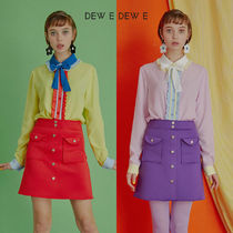 DEW E DEW E(ドュイドュイ) ブラウス・シャツ ★DEW E DEW E★ DEW E HEART DEW E_CANDY BLOUSE