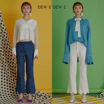 DEW E DEW E(ドュイドュイ) パンツ ★DEW E DEW E★ DEW E HEART DEW E_WAVE CUTTING PANTS
