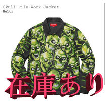 Supreme Skull Pile Work Jacket WEEK5 SS18