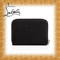 2018SS☆Christian Louboutin☆Panettone Coin Purse BLACK/GOLD