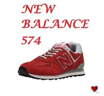 Love it  RED NEW BALANCE 574