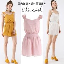国内発送・送関税込☆Chicwish☆Dreamy Dots Cami Playsuit
