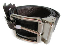 COACH Wide Harness Cut-To-Size Reversible Pebble Belt F64840