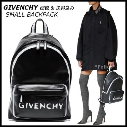 *GIVENCHY* SMALL BACKPACK IN LEATHER 関税/送料込