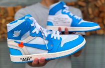 激レア最新人気話題!OFF-WHITE Air Jordan 1 Retro Powder Blue