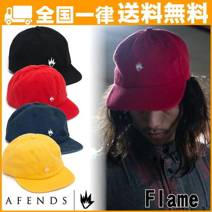 AFENDS アフェンズ 帽子 スナップバック キャップ Flame 人気