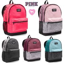 2018 New♪ PINK おしゃれ キャンパス Backpacks★ バックパック